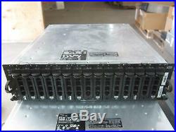 7x Dell PowerVault MD1000 Storage Array Disk Array AMP01 with 2x SAS 0JT517 +