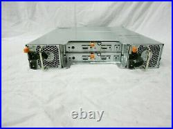 DELL MD1200 12x 3.5 SAS Hard Drive Storage Expansion MD3200 MD3200i MD3220i R730