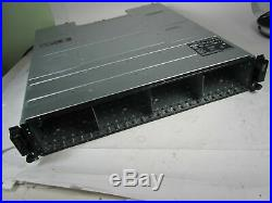 DELL POWERVAULT MD1220 24-BAY STORAGE With 2X 03DJRJ CONTROLLERS AND 2X PSU