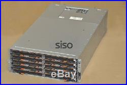 DELL POWERVAULT MD3060e 60x BAY STORAGE CHASSIS 2x PS 2x SAS EMM MODULES NO HDD