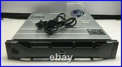 DELL POWERVAULT MD3220 0R684K 2x- PSU 24x2.5 BAY STORAGE ARRAY CHASSIS