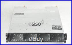 DELL POWERVAULT MD3220 24x SFF STORAGE CHASSIS 2PS 2x SAS RAID MODULE NO HDD