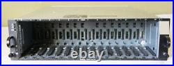 DELL POWERVAULT MD 14-BAY STORAGE ARRAY With 2 AMP01-SIM CONTROLLERS / ENCLOSURE