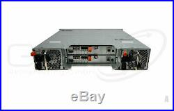 DELL PowerVault MD3600F Chassis Storage + ISCSI Controller + 600W Power Supply