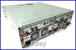 DELL PowerVault MD AMP01 15 Bay Storage Array includes 5x 300GB & 2x 160GB HDDs