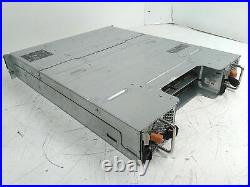 Defective Dell PowerVault MD3200i Storage Chassis Diskless Amber Status AS-IS