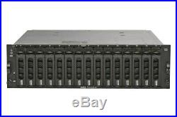Dell AMP01 PowerVault MD3000 Storage Disk Array 2x RSIM 2x Power