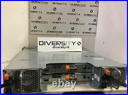 Dell E04J PowerVault Series Storage Array with 2x MD32 SAS RAID Controllers