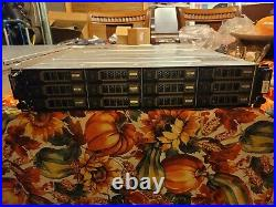 Dell MD1200 PowerVault 12-Slot 3.5 LFF 6Gbps SAS Storage Array NO HDD With BEZEL