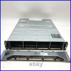 Dell MD1200 PowerVault 12-Slot 6GBPS SAS Storage Array Dual Controller NO HDD