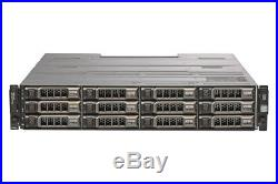 Dell MD1200 PowerVault Storage Array 12x 10TB 7.2K NL Redundant EMMs
