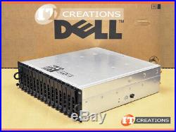 Dell Md3000i Powervault Iscsi Storage Array 10 X 300gb 15k