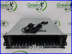Dell PowerVault MD1000 15-Bay Storage Array 2x JT517 Management Module 2x PS