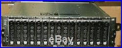 Dell PowerVault MD1000 15 bay drive Storage Array SAN with 15 x 300Gb 15K SAS