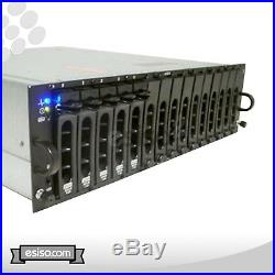 Dell PowerVault MD1000 15x 500GB SATA STORAGE DUAL P/S EMM CONTROLLER NO RAILS