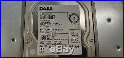 Dell PowerVault MD1000 2LGMGD1 Storage Array (15x) 2TB Dell SAS (2x) 0JT517
