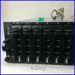 Dell PowerVault MD1000 3U Storage Array Unit 2 x AMP01 Controllers + 15 Trays