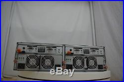 Dell PowerVault MD1000 AMP01 Storage Array withCords/2PSUs/6Caddies/NO HDD/BEZEL