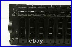 Dell PowerVault MD1000-AMP01 Storage Array with(1) AMP01-SIM, (1) Bad Power Supply