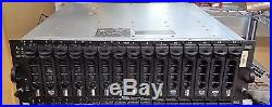 Dell PowerVault MD1000 Storage Array 15x 300GB 15K SAS Dual Controllers & PSUs