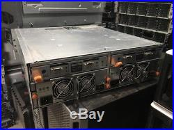 Dell PowerVault MD1000 Storage Array includes 2 EMM controller, 2 psu 10 caddy