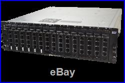 Dell PowerVault MD1000 Storage Disk Array with 10x 2TB, SAS Cable, 2x EMM 2x PSU