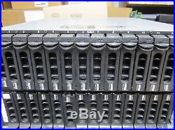 Dell PowerVault MD1000 Storage Disk Array with 2x Control & 2x 488W Power Supplies