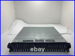 Dell PowerVault MD1120 Storage Array with 24x 600GB 10K SAS OEM HDD, 2x 0JT356