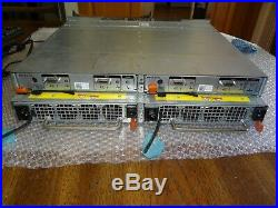 Dell PowerVault MD1120 Storage Array with 24x HDD Bays, 2x 0JT356 & 2x PSU