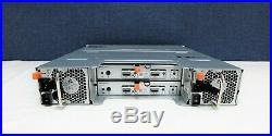 Dell PowerVault MD1200 12-Bay 3.5 Storage Array, 2x 3DJRJ SAS controllers, 2x PS