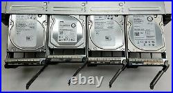 Dell PowerVault MD1200 12-Bay Storage Array with121TB SAS + 2MD12 SAS Controller