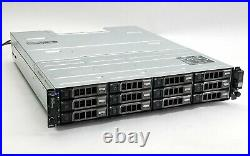 Dell PowerVault MD1200 12-Bay Storage Array with122TB SAS + 2MD12 SAS Controller