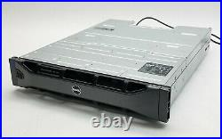 Dell PowerVault MD1200 12-Bay Storage Array with122TB SAS HDD + 2MD12 Controller