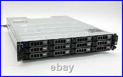 Dell PowerVault MD1200 12-Bay Storage Array with123TB SAS + 2MD12 SAS Controller