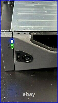 Dell PowerVault MD1200 12-Bay Storage Array with 2MD12 SAS Controller 1350 GB