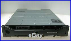 Dell PowerVault MD1200 12 Bay Storage Array with 2x Controller 03DJRJ, 12x 4TB HDD