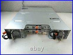 Dell PowerVault MD1200 12-Bay Storage Array with MD12 SAS Controller and 600W PSUs