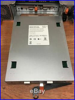 Dell PowerVault MD1200 Direct Attached Storage with2x MD12 Series 6 GB SAS Control