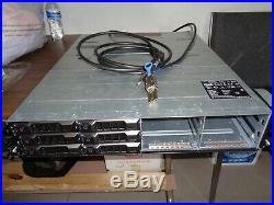 Dell PowerVault MD1200 E03J Storage Array WithSAS cables +SASCard