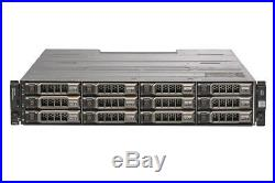 Dell PowerVault MD1200 Storage Array With Dual Controller + 2x PSU + 10x 4TB HDD