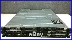 Dell PowerVault MD1200 storage array with 2 x SAS Controllers and 2 x 600W PSU