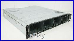 Dell PowerVault MD1220 24-Bay Storage Array 2x Controller 2x PSU No HDD