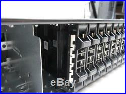 Dell PowerVault MD1220 24 Bay Storage Array 2x SAS 6gb/s Controller 2x PSU LOCAL