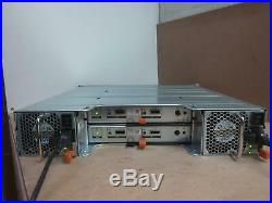 Dell PowerVault MD1220 24 Bay Storage Enclosure 2x 0W307K 6GB MD 12 seriies con