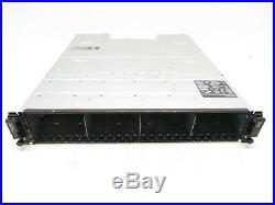Dell PowerVault MD1220 24 Bay Storage Enclosure 2x Controllers 2x Power Supplies