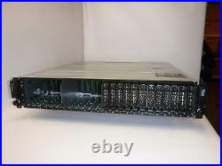Dell PowerVault MD1220 24x 2.5 Bay Storage Array with 2x PSU 2x Controller