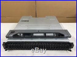 Dell PowerVault MD1220 ISCSI Storage Array 2 x 0W307K Controllers