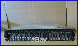 Dell PowerVault MD1220 SAS Storage Array DUAL 6GBps Controllers 24 x 900GB SAS