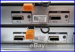 Dell PowerVault MD1220 Storage 2x SAS 6Gb EMM Controllers, 2x PSUs With RAILS
