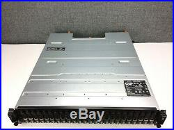 Dell PowerVault MD1220 storage array, 24x 900GB SAS HDD, 2x 6Gb SAS Controllers